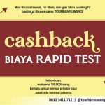 PROMO CASHBACK RAPID TEST