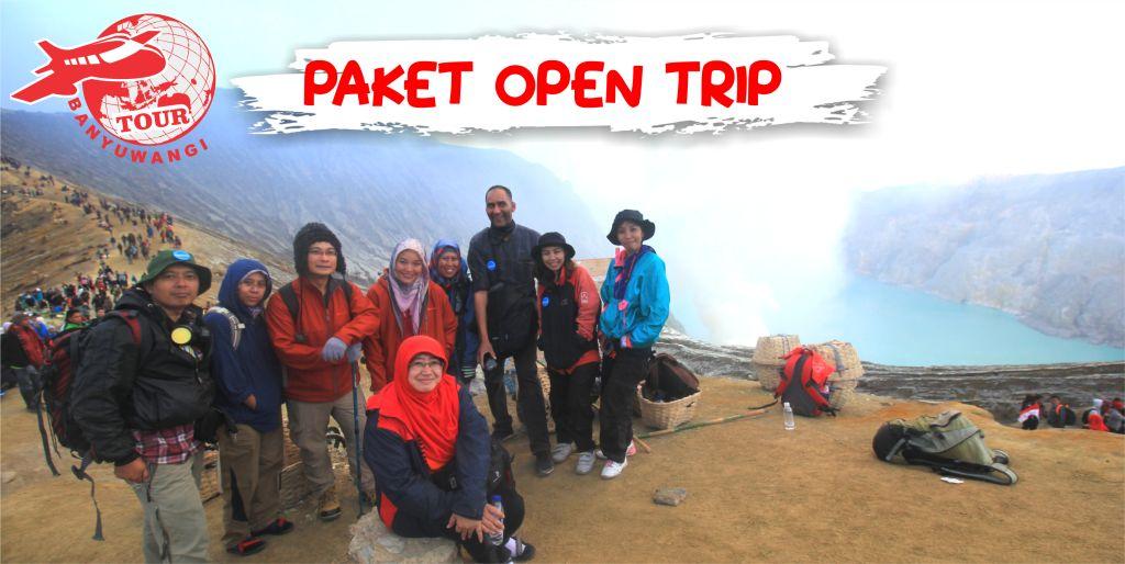 trip banyuwangi, paket tour banyuwangi murah, open trip