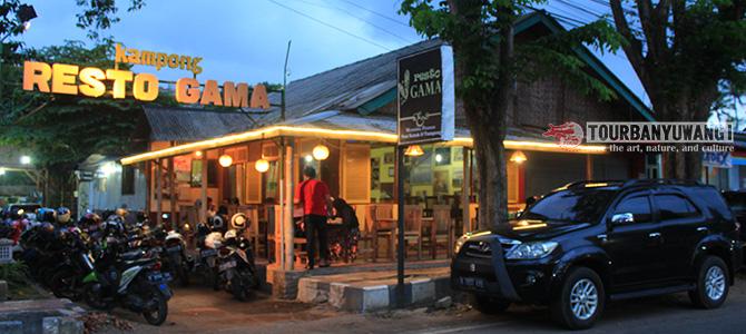 Wisata Kuliner Resto Gama Banyuwangi