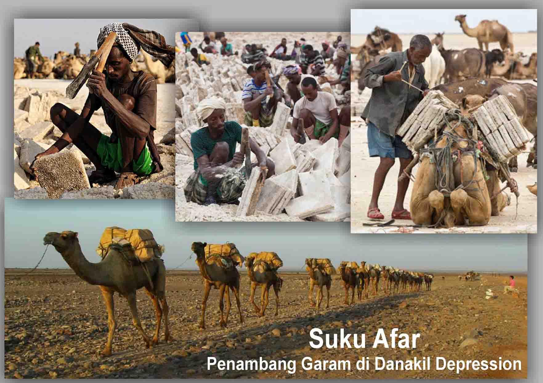 Suku Afar Danakil Depression, Olivier Grunewald, blue fire selain di Ijen, hoax blue fire Kawah Ijen