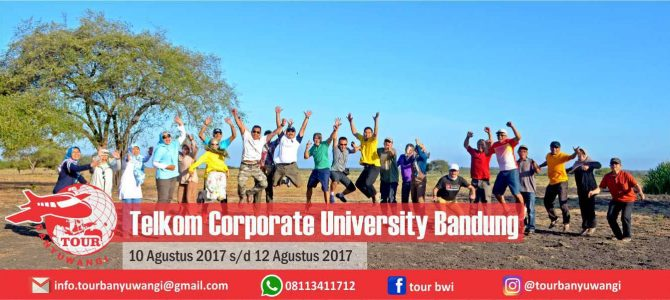 Telkom Corporate University Bandung Trip to Banyuwangi