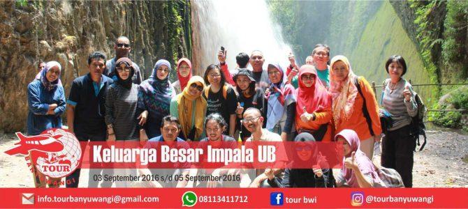 Keluarga Besar Umpala UB Tour to Banyuwangi