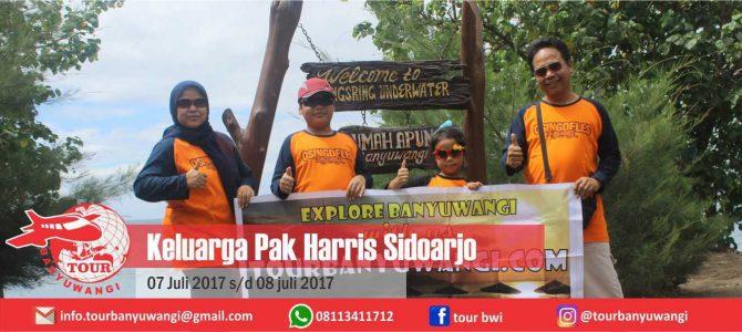 Keluarga Pak Harris (Sidoarjo) Trip to Banyuwangi