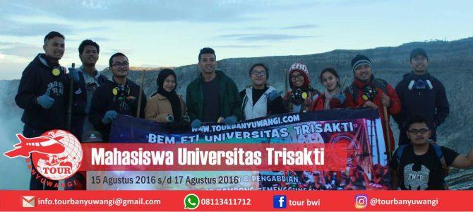 Mahasiswa Universitas Trisakti Trip to Banyuwangi with Tour Banyuwangi