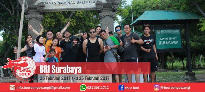 Grup BRI Surabaya Trip to Banyuwangi with Tour Banyuwangi