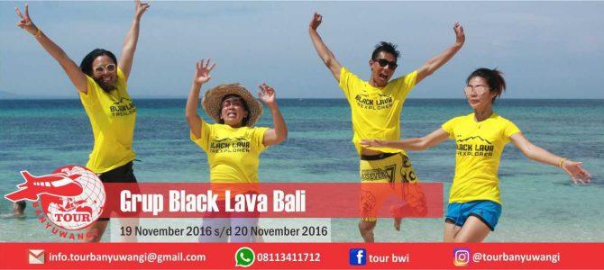 Grup Black Lava Bali Tour to Banyuwangi