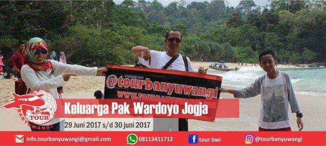 Keluarga Pak Wardoyo (Jogja) Trip to Banyuwangi with Tour Banyuwangi