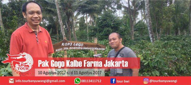 Pak Gogo Kalbe Farma Tour to Banyuwangi