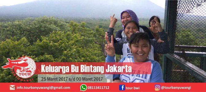 Keluarga Bu Bintang Jakarta Trip to Banyuwangi