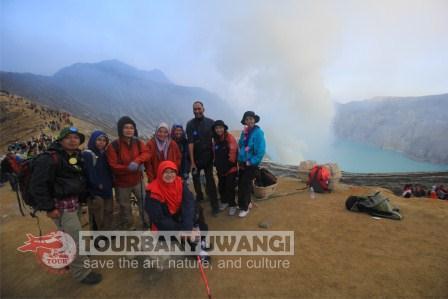 Open trip Ijen Baluran, paket wisata murah ke Banyuwangi, Paltuding Kawah Ijen