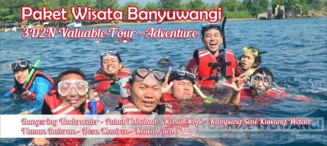 Paket Wisata Banyuwangi 3 Hari 2 Malam Valuable Tour – Adventure