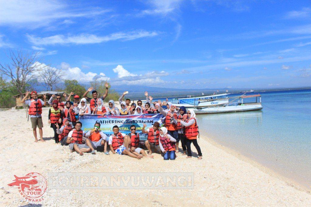 Paket Wisata Banyuwangi 1H1M Valuable Tour Journey, objek wisata Banyuwangi, Wisata pulau Tabuhan Banyuwangi