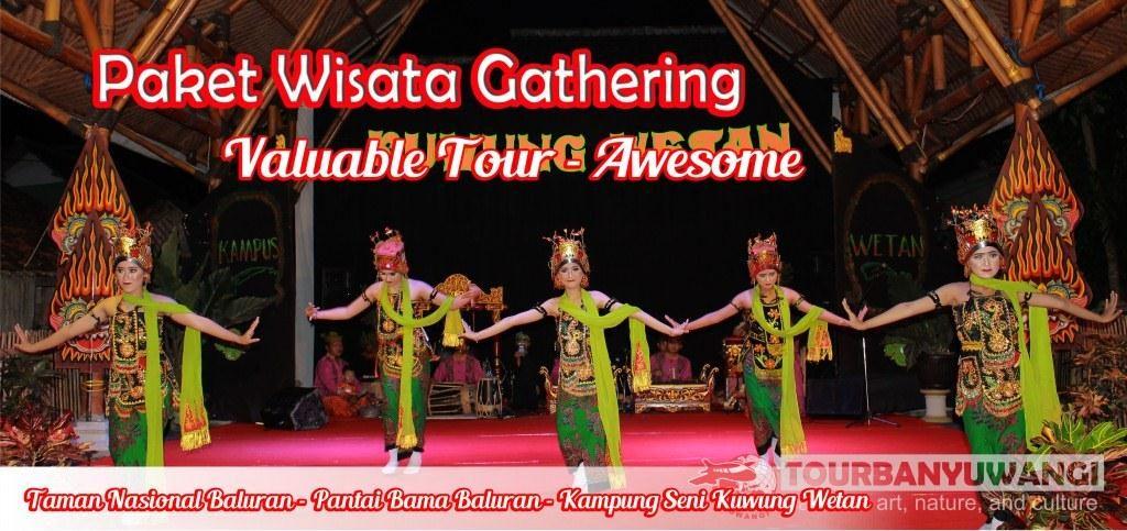 acara gathering perusahaan, Objek Wisata Banyuwangi, Wisata seni budaya Banyuwangi