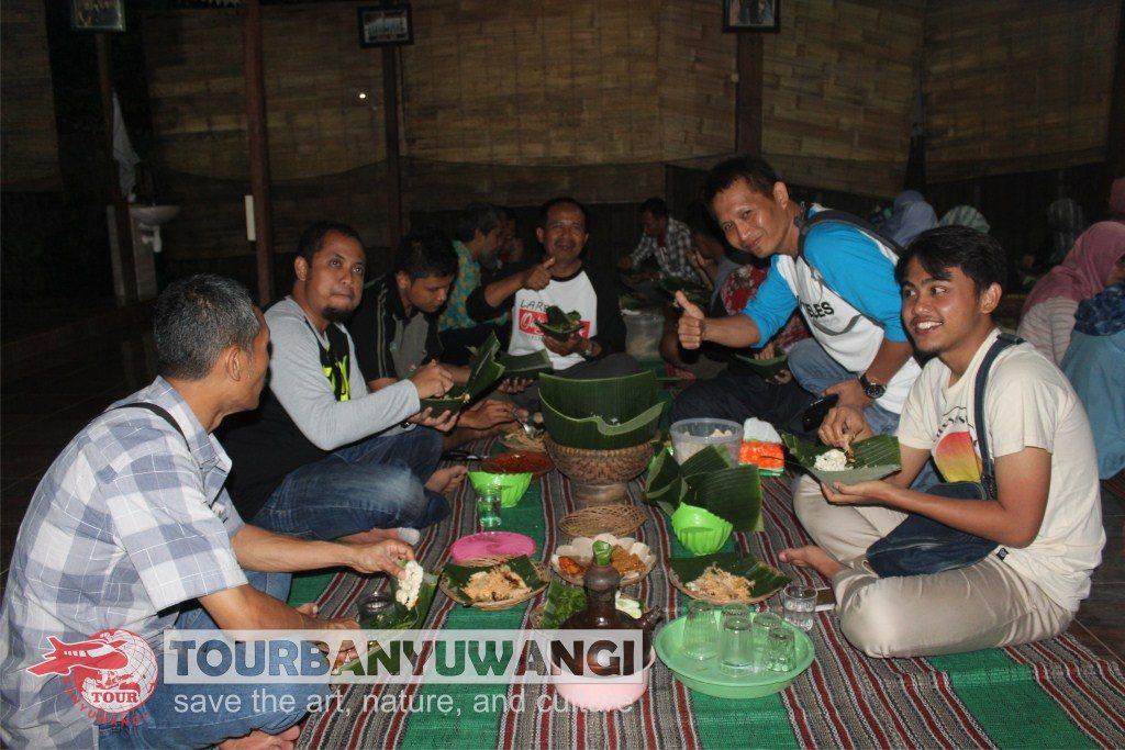 acara gathering perusahaan, objek wisata banyuwangi, desa adat kemiren