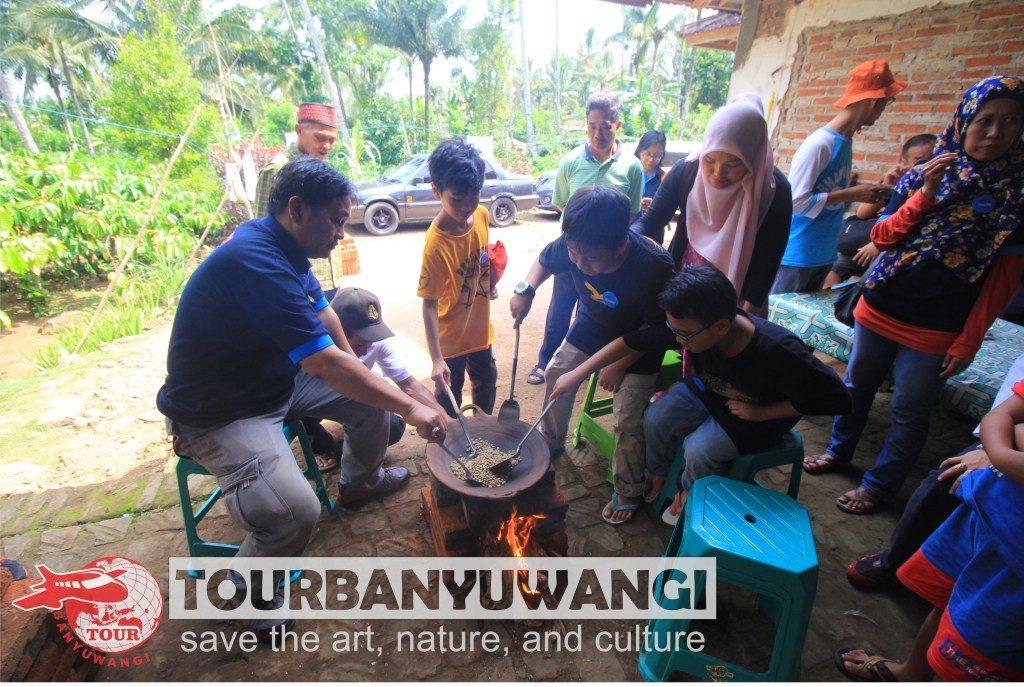 paket gathering murah, festival sangrai kopi banyuwangi, kopi banyuwangi
