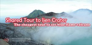 Ijen crater tour, mount Ijen tour, Ijen crater tour price