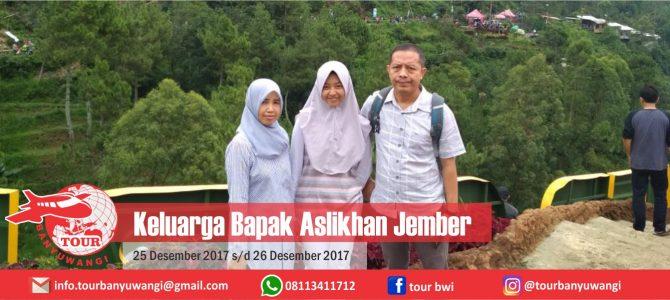 Keluarga Bapak Aslikhan Jember Trip to Malang with Tour Banyuwangi