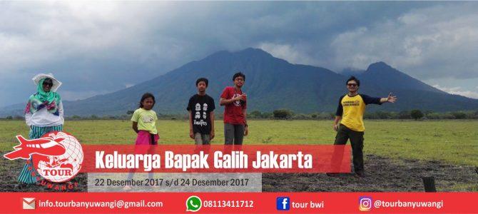 Bapak Galih 'n Family Trip To Banyuwangi With Tour Banyuwangi