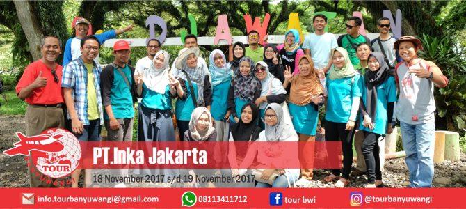 PT. INKA Jakarta Trip To Banyuwangi With Tour Banyuwangi