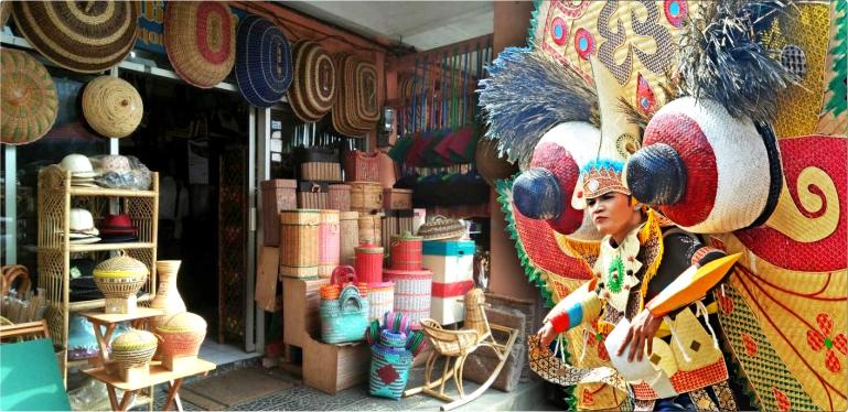 Kampung wisata jajang, desa wisata di banyuwangi, kerijan bambu banyuwangi