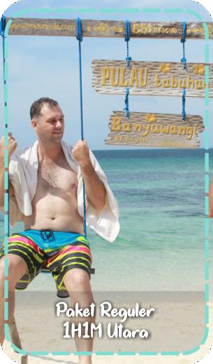 paket wisata banyuwangi 1 hari, tour banyuwangi, pulau tabuhan