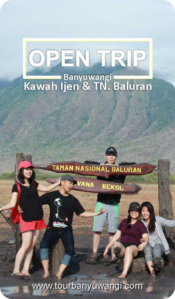 open trip ijen baluran 2018, trip ijen baluran, baluran national park