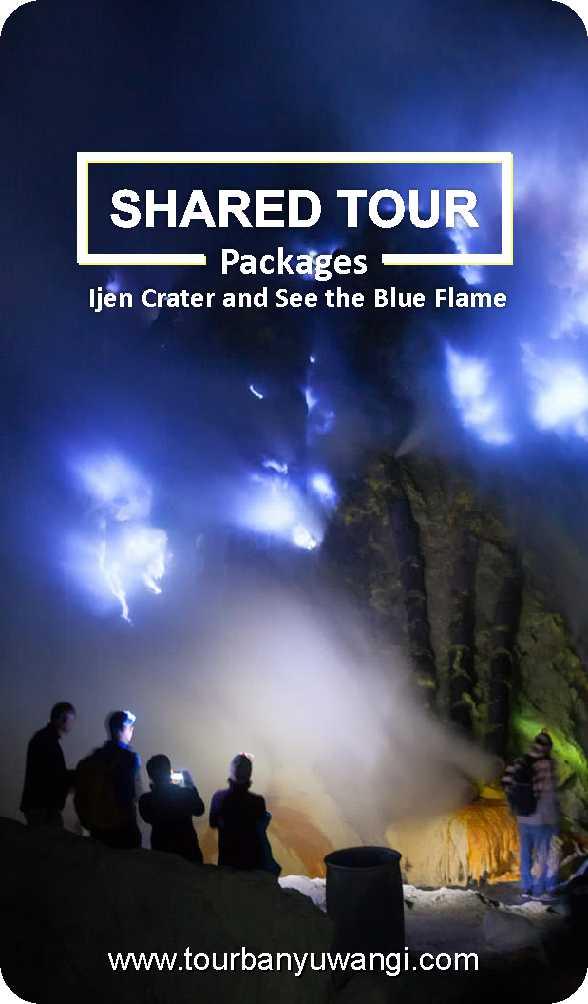ijen shared tour, sharing tour banyuwangi, ijen crater