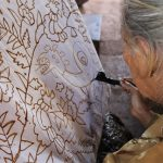 Pembatik Senior Kampong Wisata Banyuwangi