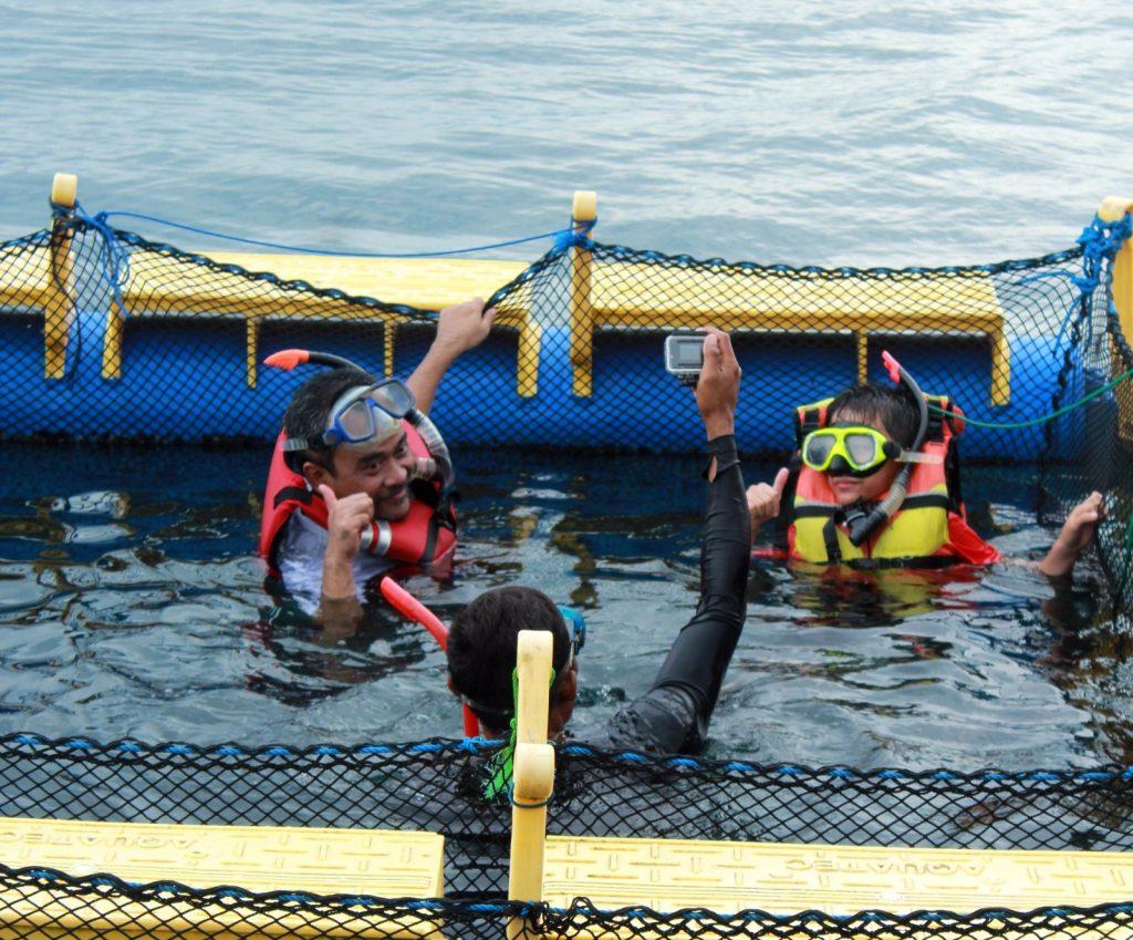 bangsring underwater banyuwangi, wisata bangsring banyuwangi, bangsring beach