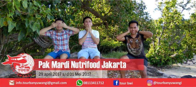 Pak Mardi Nutrifood (Jakarta) Trip to Banyuwangi with Tour Banyuwangi