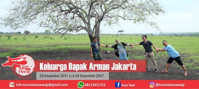 Pak Arman Jakarta Trip To Banyuwangi With Tour Banyuwangi